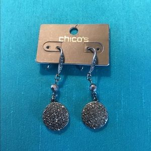 Chico's sparkly earrings